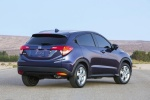 2016 Honda HR-V in Deep Ocean Pearl - Static Rear Right Three-quarter View