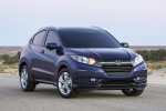 2016 Honda HR-V in Deep Ocean Pearl - Static Front Right View