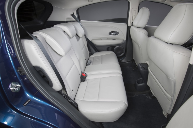 2017 Honda HR-V Rear Seats Picture