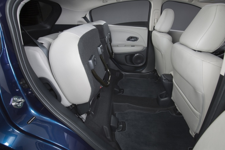 2017 Honda HR-V Rear Seats Folded Picture