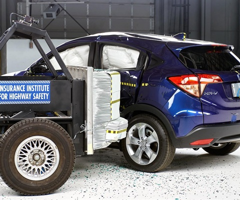 2017 Honda HR-V IIHS Side Impact Crash Test Picture