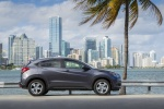 2017 Honda HR-V AWD in Modern Steel Metallic - Static Right Side View