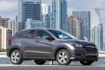 2017 Honda HR-V AWD in Modern Steel Metallic - Static Front Right Three-quarter View