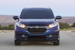 2017 Honda HR-V in Deep Ocean Pearl - Static Frontal View