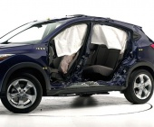 2018 Honda HR-V IIHS Side Impact Crash Test Picture