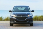 Picture of a 2018 Honda HR-V in Mulberry Metallic from a frontal perspective