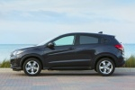 Picture of a 2018 Honda HR-V in Mulberry Metallic from a side perspective