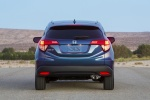Picture of a 2018 Honda HR-V from a rear perspective