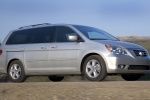 2010 Honda Odyssey in Alabaster Silver Metallic - Driving Front Right Three-quarter View