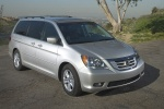2010 Honda Odyssey in Alabaster Silver Metallic - Static Front Right View
