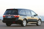 2012 Honda Odyssey Touring in Crystal Black Pearl - Static Rear Right View