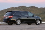2012 Honda Odyssey Touring in Crystal Black Pearl - Static Rear Right Three-quarter View