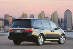 2013 Honda Odyssey Touring in Crystal Black Pearl - Static Rear Right View