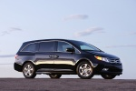 2013 Honda Odyssey Touring in Crystal Black Pearl - Static Front Right Three-quarter View