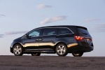 2013 Honda Odyssey Touring in Crystal Black Pearl - Static Rear Left Three-quarter View
