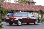 2013 Honda Odyssey Touring in Dark Cherry Pearl - Static Rear Right Three-quarter View