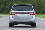 2013 Honda Odyssey Touring in Alabaster Silver Metallic - Static Rear View