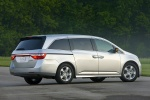 2013 Honda Odyssey Touring in Alabaster Silver Metallic - Static Rear Right Three-quarter View