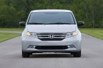 2013 Honda Odyssey Touring in Alabaster Silver Metallic - Static Frontal View
