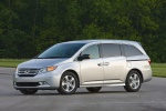 2013 Honda Odyssey Touring in Alabaster Silver Metallic - Static Front Left Three-quarter View