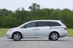 2013 Honda Odyssey Touring in Alabaster Silver Metallic - Static Side View