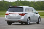 2013 Honda Odyssey Touring in Alabaster Silver Metallic - Driving Rear Right View