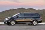 2013 Honda Odyssey Touring in Crystal Black Pearl - Static Left Side View