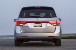 2014 Honda Odyssey Touring Elite in Alabaster Silver Metallic - Static Rear View