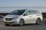 Picture of 2014 Honda Odyssey Touring Elite in Alabaster Silver Metallic
