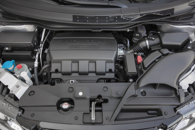 2016 Honda Odyssey Touring Elite 3.5-liter V6 Engine Picture