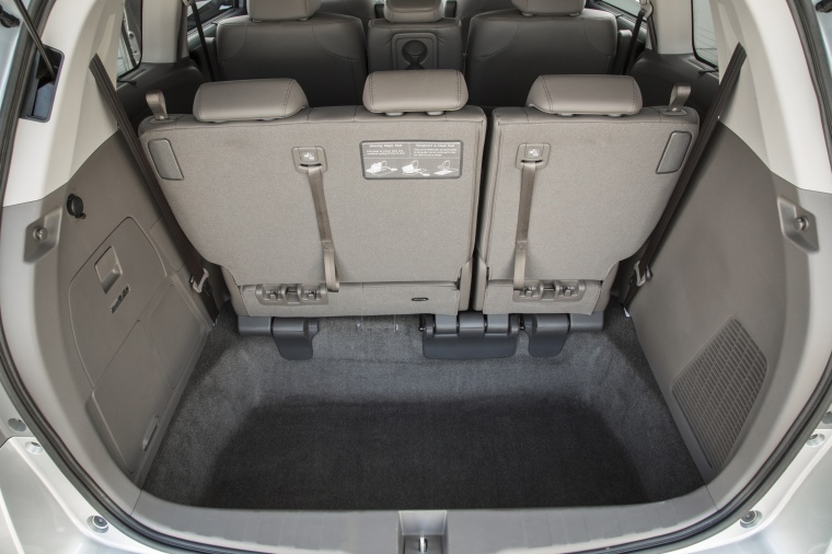 2016 Honda Odyssey Touring Elite Trunk Picture