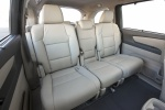 Picture of 2016 Honda Odyssey Touring Rear Seats in Gray