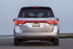 2017 Honda Odyssey Touring Elite in Lunar Silver Metallic - Static Rear View