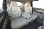 Picture of 2017 Honda Odyssey Touring Rear Seats in Gray