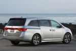 2017 Honda Odyssey Touring Elite in Lunar Silver Metallic - Static Rear Right Three-quarter View