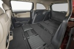 2018 Honda Odyssey Elite Rear Seats Folded in Beige