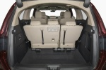 2018 Honda Odyssey Elite Trunk behind Third Row