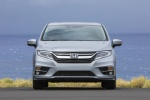 2018 Honda Odyssey Elite in Lunar Silver Metallic - Static Frontal View