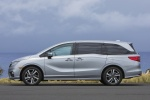 2018 Honda Odyssey Elite in Lunar Silver Metallic - Static Left Side View