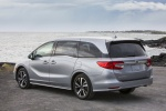 2018 Honda Odyssey Elite in Lunar Silver Metallic - Static Rear Left View