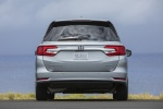 2018 Honda Odyssey Elite in Lunar Silver Metallic - Static Rear View