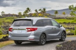 2018 Honda Odyssey Elite in Lunar Silver Metallic - Static Rear Right Three-quarter View