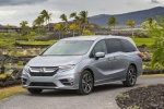 2018 Honda Odyssey Elite in Lunar Silver Metallic - Static Front Left View