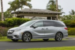 2018 Honda Odyssey Elite in Lunar Silver Metallic - Static Front Left Three-quarter View