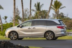 2018 Honda Odyssey Elite in Lunar Silver Metallic - Static Rear Left Three-quarter View
