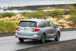 2018 Honda Odyssey Elite in Lunar Silver Metallic - Driving Rear Right View