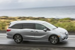 2018 Honda Odyssey Elite in Lunar Silver Metallic - Driving Side View