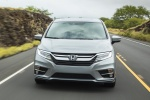 2018 Honda Odyssey Elite in Lunar Silver Metallic - Driving Frontal View