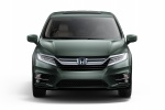 2018 Honda Odyssey Elite in Forest Mist Metallic - Static Frontal View