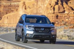 2019 Honda Passport Elite AWD in Lunar Silver Metallic - Driving Front Right View